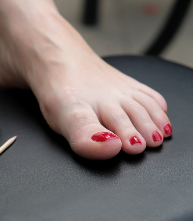 Nail and skin care is important to us at podiatry first sports